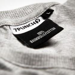 Abverkauf  7PUNCH GSP TAKEDOWN T-Shirt grey htr