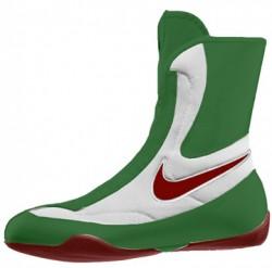 Nike Machomai Mid Boxschuh Fb 43 grün weiss rot
