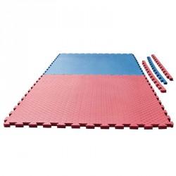 Puzzlematte Checker 2cm blau