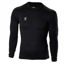 Ju- Sports Compression Shirt Schwarz LS