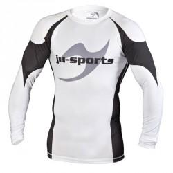 Ju- Sports Pro C13 Rashguard LS Weiss