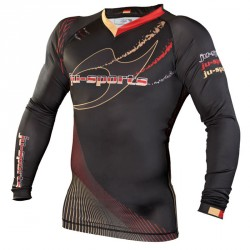 Ju- Sports Germany Rashguard Schwarz LS