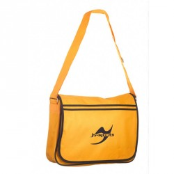 Ju- Sports Retro Messenger Bag Gold Schwarz
