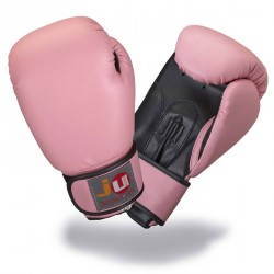 Ju- Sports Damen Boxhandschuhe Pink 10oz