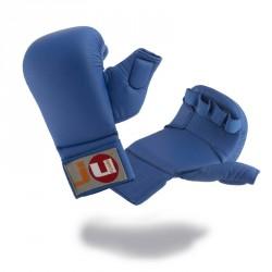 Ju- Sports Karate Handschutz Blau mit Daumen