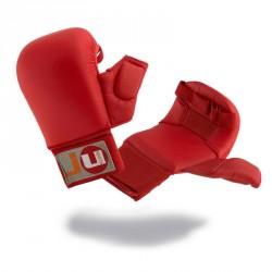 Ju- Sports Karate Handschutz Rot mit Daumen