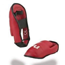 Abverkauf Ju- Sports Karatefussschutz Rot