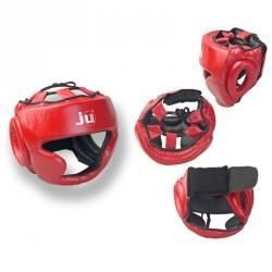Abverkauf Ju- Sports Kopfschutz Chin Rot