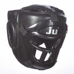 Abverkauf Ju- Sports Kopfschutz Mask Schwarz