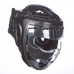 Ju- Sports Kopfschutz Shield Schwarz