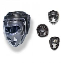 Abverkauf Ju- Sports Kopfschutz Shield Schwarz