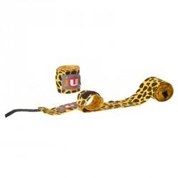 Ju- Sports Boxbandagen 3m unelastisch Leopard