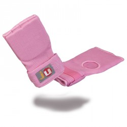 Ju- Sports Innenboxhandschuhe mit Bandage Pink Senior