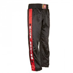 Ju- Sports Kickboxhose Kick Schwarz Kids