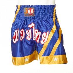 Ju- Sports Thaiboxhose Blau