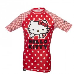 Hello Kitty Rashguard Red Core