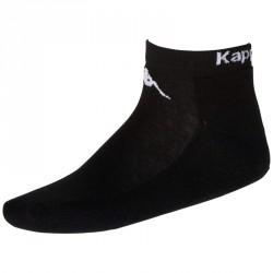 Kappa Sahel 3 Sneakersocken Black 3er Pack