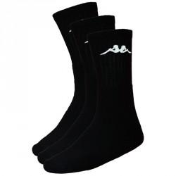 Abverkauf Kappa Negrit 3 Sportsocken 3er Pack Black