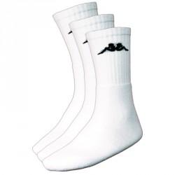 Abverkauf Kappa Negrit 3 Sportsocken 3er Pack White 35-38