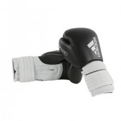 Adidas Hybrid 300 Boxhandschuhe Schwarz Weiss