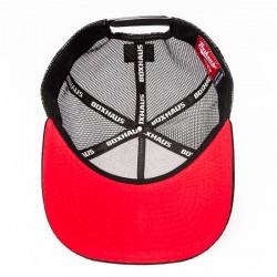 Abverkauf BOXHAUS Brand Yucon Truckercap black red