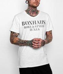 BOXHAUS Brand Jayden T-Shirt white
