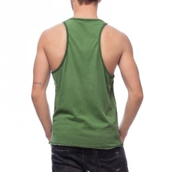 Abverkauf  BOXHAUS Brand MN Tanktop WAAO nuga green