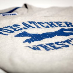 Abverkauf BOXHAUS Brand Foxcatcher Teamshirt grey htr S M