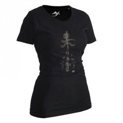 Ju- Sports Ju Jutsu Shirt Classic Schwarz Lady