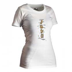 Ju- Sports Judo Shirt Classic Weiss Lady