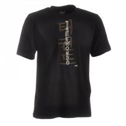 Ju- Sports Taekwondo Shirt Classic Schwarz