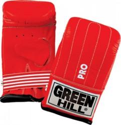Green Hill Punching Mitts Pro rot