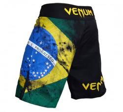 Venum BRAZILIAN FLAG Fightshorts black