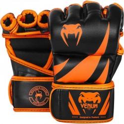 Venum Challenger MMA Gloves Neo Orange Black