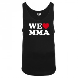We Love MMA Big Logo Shirt Schwarz