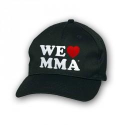 ABVERKAUF We Love MMA Cap Big Logo Schwarz