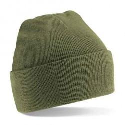 Beechfield Knitted Hat Beanie mit Umschlag