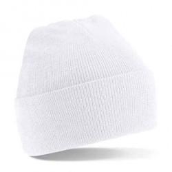 Abverkauf Beechfield Knitted Hat Beanie mit Umschlag