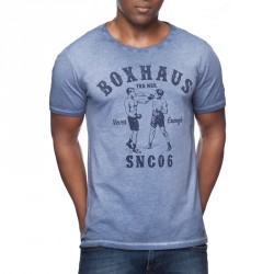BOXHAUS Brand Aron T-Shirt Athl. Blue