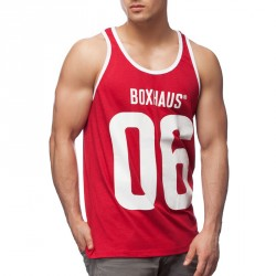Summersale BOXHAUS Brand Kontrast Tank Top Monroe red