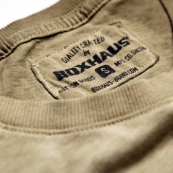 Abverkauf BOXHAUS Brand Draw T-Shirt sand