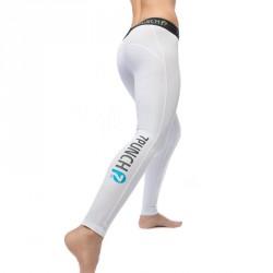 Abverkauf 7PUNCH Compression Longpant M-Mission Women white