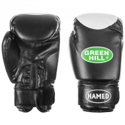 Green Hill HAMED Boxhandschuhe BGH-2036 schwarz
