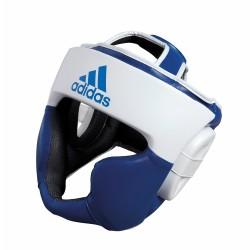 Abverkauf Adidas Response Kopfschutz Blau Weiss