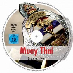 ABVERKAUF Muay Thai DVD Grundtechniken Christoph Delp