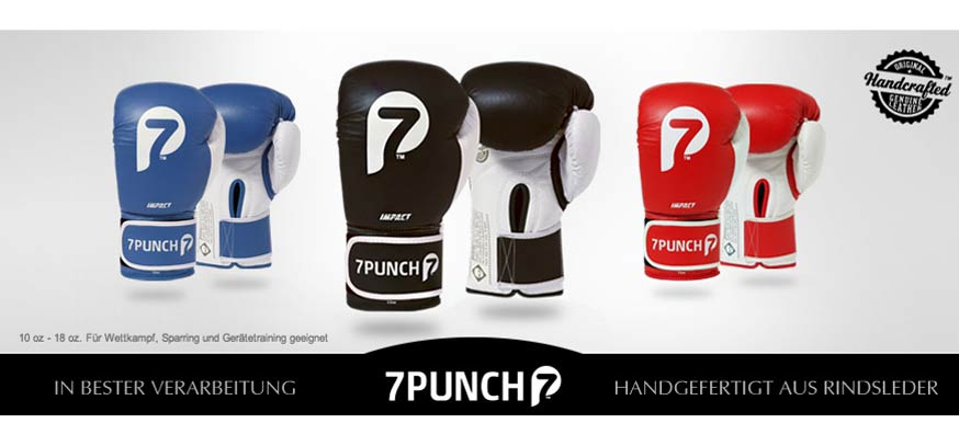7PUNCH - Impact Boxhandschuhe